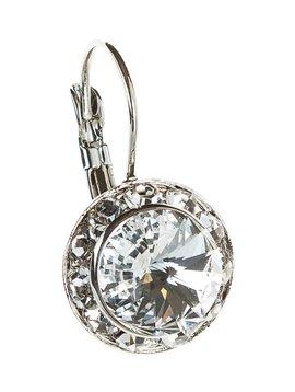 Rain Clear Crystal Earrings