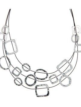 Multi Shape Illusion Necklace
