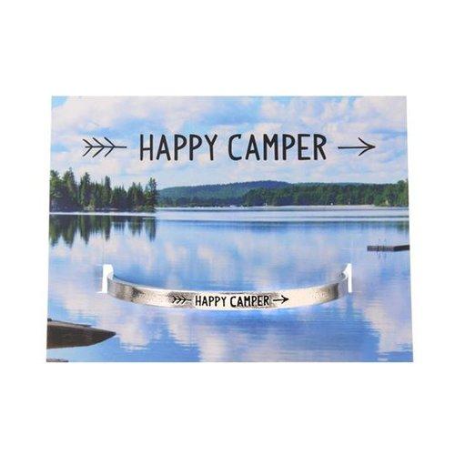 Happy Camper Cuff Bracelet