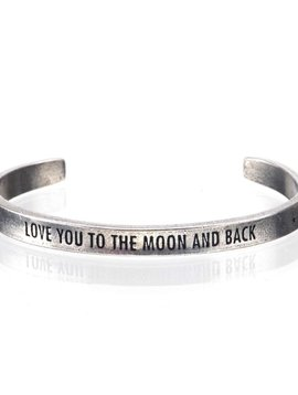 Whitney Howard Love you to the Moon and Back Cuff Bracelet