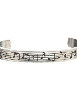 Whitney Howard Musical Notes Cuff Bracelet