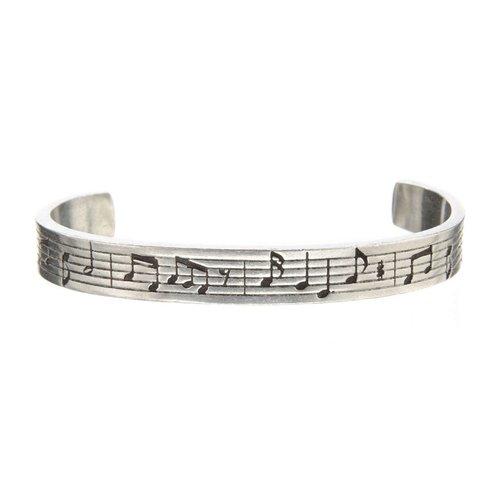 Whitney Howard Musical Notes Cuff Bracelet