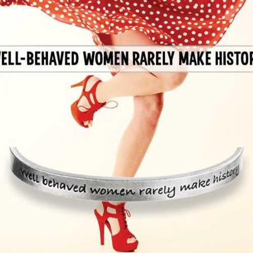 Whitney Howard Well Behaved Women Cuff Bracelet