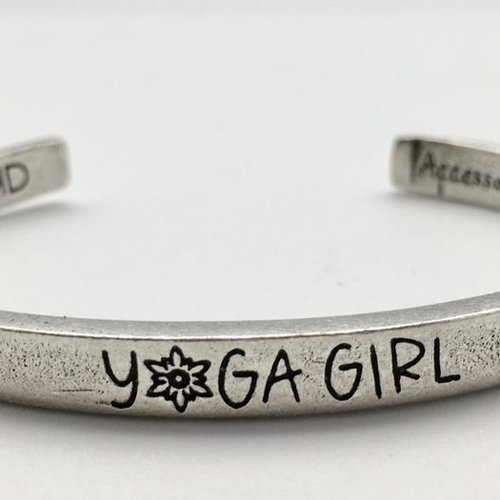 Whitney Howard Yoga Girl Cuff Bracelet