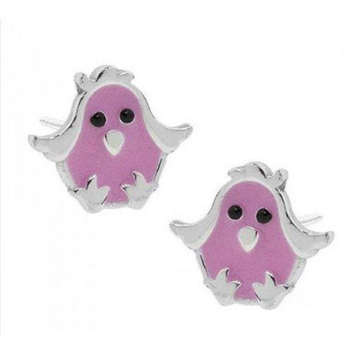 Pudgy Bird Post Earrings