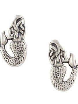 Mermaid Post Earrings