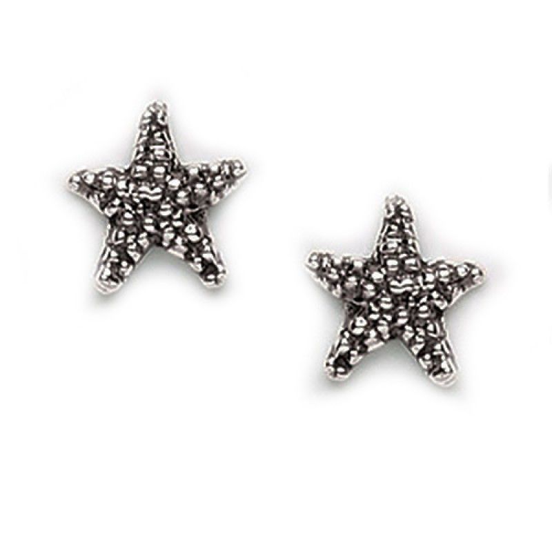 Starfish Post Earrings