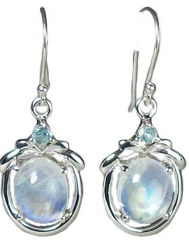 Esprit Creations Rainbow Moonstone Earrings