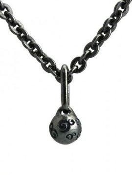 Ohm Beads Dirty Ball Necklace 28""