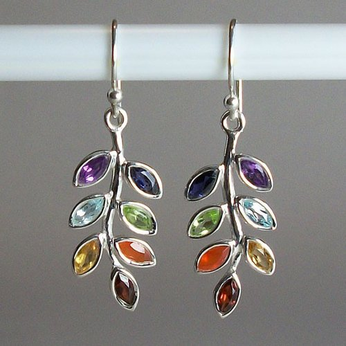 Esprit Creations Chakra Leaf Earrings