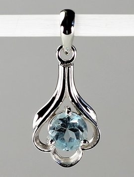 Esprit Creations Lovely Sky Blue Topaz Pendant