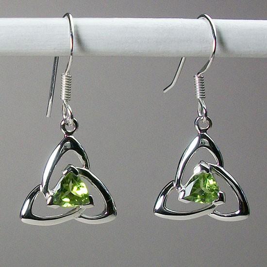 Celtic Triquetra Earrings