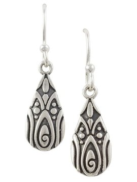 Tomas Pear Shaped Bali Earrings
