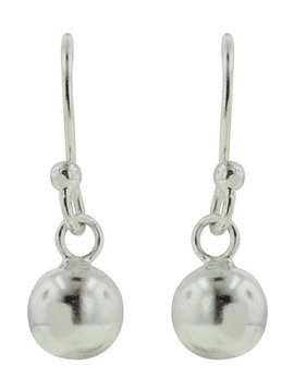 Tomas Silver Ball Drop Earrings