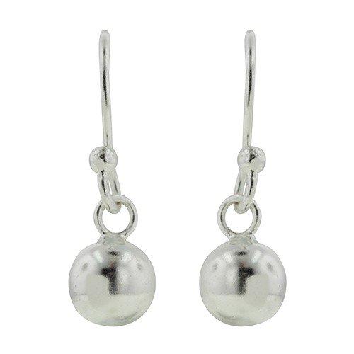 Tomas Silver Ball Drop Earrings