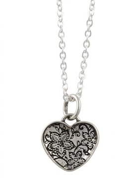 Tomas Filigree Heart Necklace