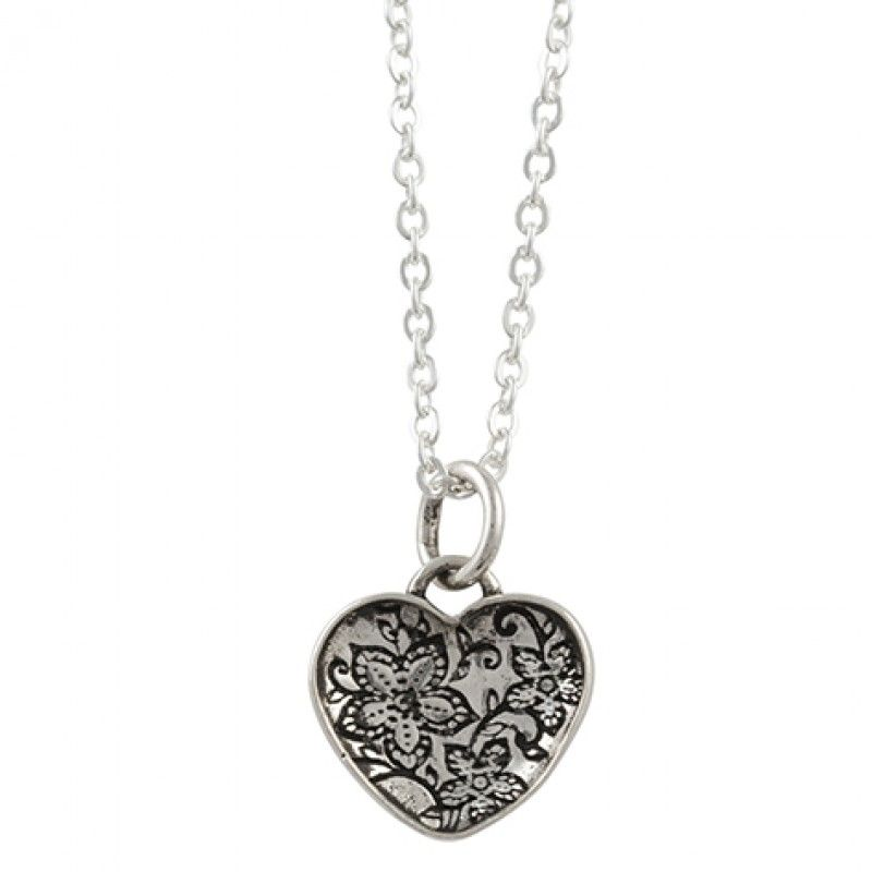 Tomas Filigree Heart Necklace