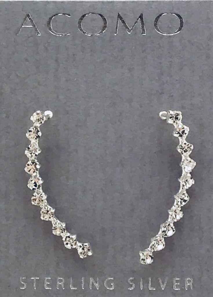 Crystal Climber Earrings