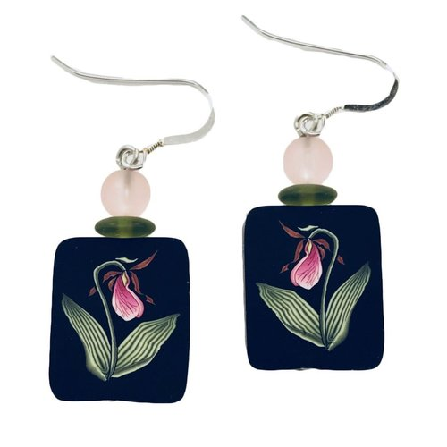 Lady Slipper Earrings