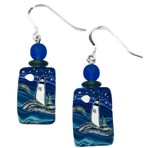 Island Lighthouse Earrings