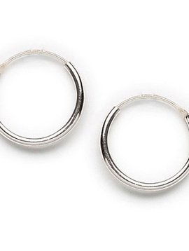 Tomas Silver Endless Hoop Earrings