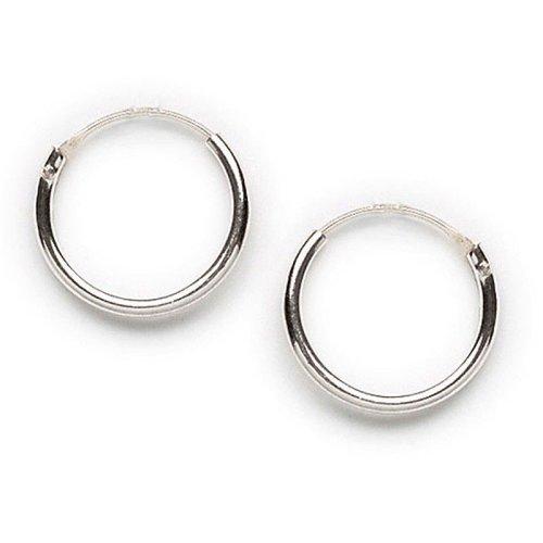 Tomas Silver Endless Hoop Earrings