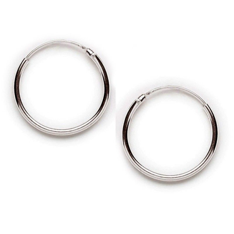 Tomas Silver Endless Hoop Earrings - Earrings And Company