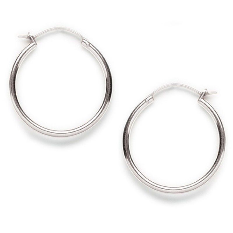 Tomas Silver Hinged Hoop Earrings