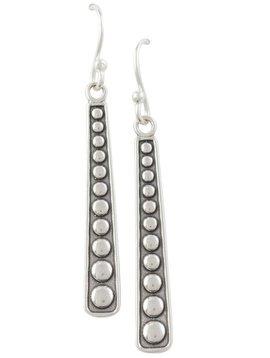 Tomas Oxidized Bali Stick Earrings