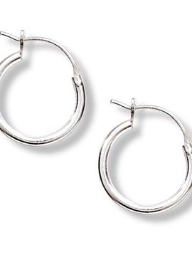 Tomas Silver Tube Hoop Earrings
