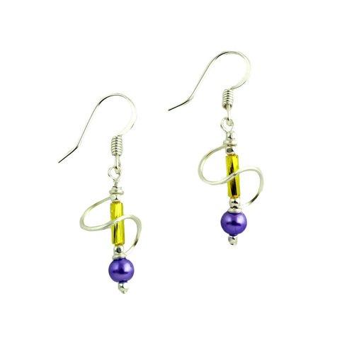 Harpstone Spring Swirl Earrings