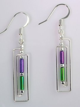 Harpstone Frand Lloyd Wright Earrings