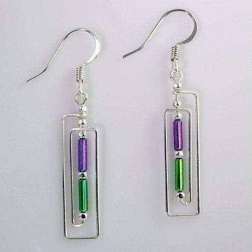 Harpstone Frand Lloyd Wright Earrings