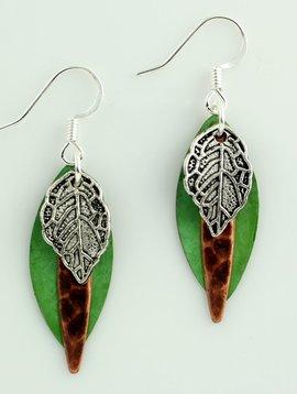 Harpstone Layered Mixed Metal Earrings