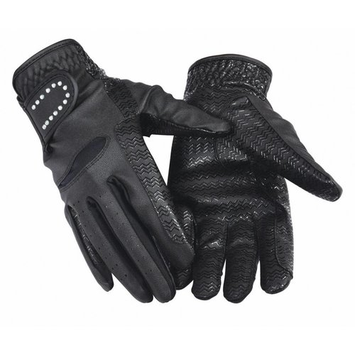 Equine Couture Crystal Riding Gloves