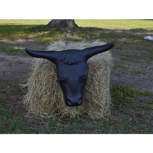 Roping Steer Head - Blue