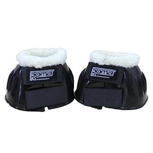 Roma Fleece Trim Rubber Bell Boot