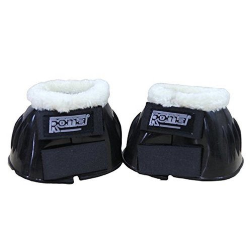 Roma Fleece Trim Rubber Bell Boot