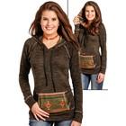 Panhandle Slim Ladies Fossil Aztec Pullover L8T3630