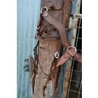 Alamo Wave Headstall Antique