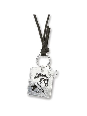 Extended Trot Horse Necklace