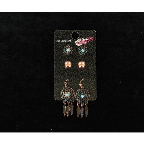 Dreamcatcher Jewelry 3pc Set