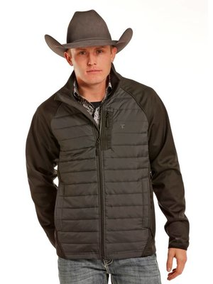 Tuf Cooper Men's Softshell Quilt Jacket 92-3806