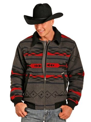 Panhandle Slim Powder River Men's Wool Jacket 92-3861
