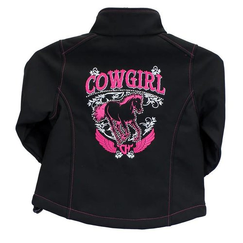 Youth Cowgirl Poly Shell Jacket