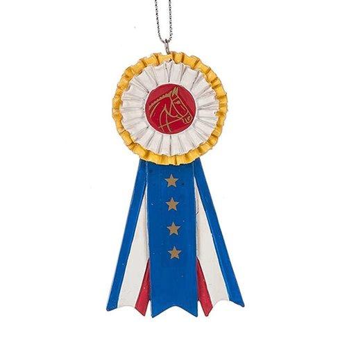 Horse Show Ribbon Ornament