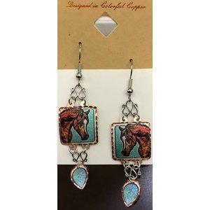 Lynn Bean Dangle Earrings