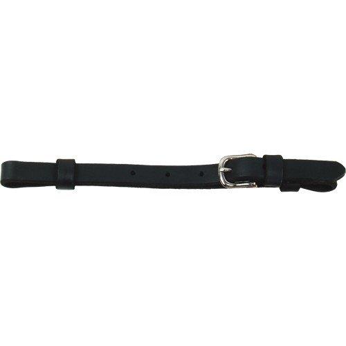 "Schutz 1/2"" Black Leather Curb Strap"