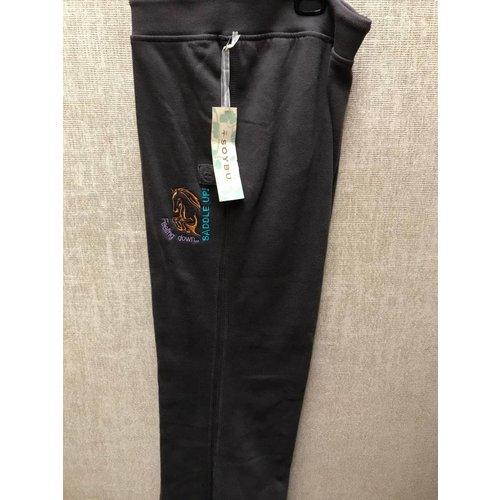 Diamond Royal Tack Embroidered Lounge Pant