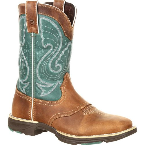 Durango Women's Ultralight Emerald Western Boot